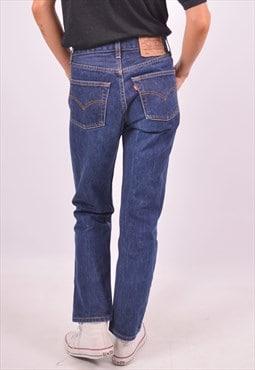 Vintage Levi's 501 Jeans Straight Blue