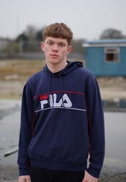 90s Vintage Fila hoodie