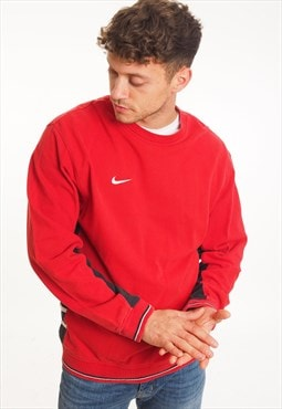 Vintage Nike Sweatshirt Red