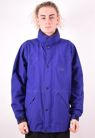 THE NORTH FACE MENS VINTAGE JACKET XL BLUE 90S
