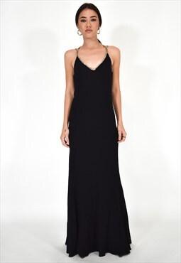 Iceberg Elegant Black Dress