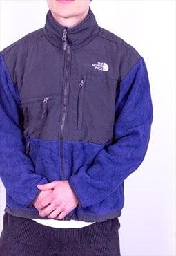 Vintage The North Face Denali Fleece Jacket in Blue