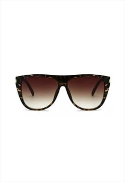 Gemma Square Oversized Sunglasses Tortoise