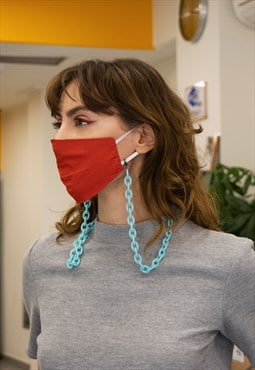 """Pauline"" Face Mask Chain"