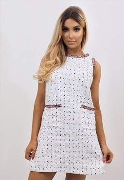 Poppy Tweed Dress