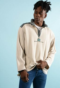 Vintage Sergio Tacchini 1/4 Zip Sweatshirt