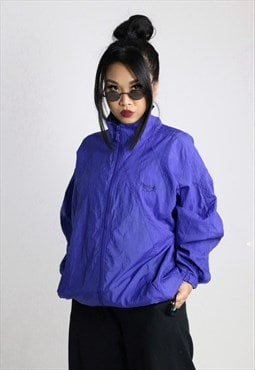 REEBOK Vintage Tracksuit sports  Top  Windbreaker Jacket