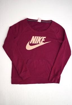Vintage 90s Nike Dark Fuchsia Sweatshirt