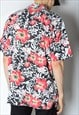 VINTAGE 90S SUMMER FESTIVAL FLOWER SHIRT