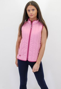 Vintage Adidas Gilet in Pink