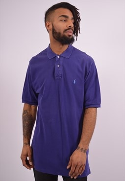 Vintage Polo Ralph Lauren Polo Shirt Purple