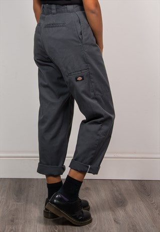 90'S VINTAGE DICKIES HIGH WAIST TAPERED REWORK TROUSERS
