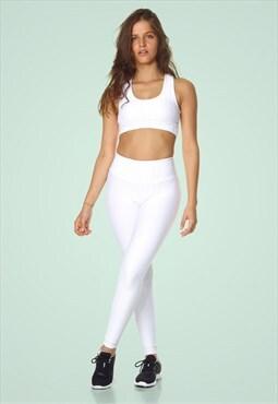 Sportswear Fitness & Yoga Legging Venice White