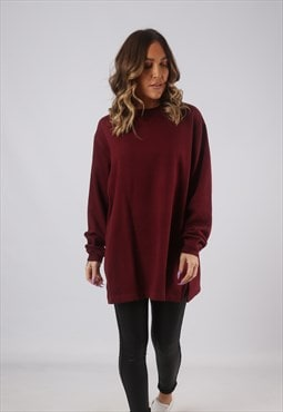 Sweatshirt Jumper Oversized PlAIN Long UK 16 - 18  (HKHF)