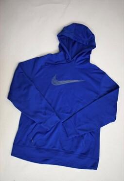 Vintage 90s Nike Blue Hoodie