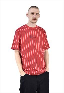 Vintage Karl Kani Stripped T Shirt