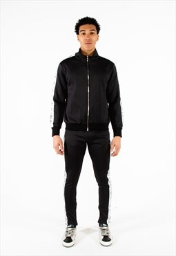 Loud Black Tape Tracksuit
