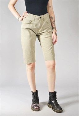 Vintage Levi's 511 Denim Shorts Khaki