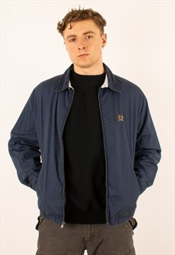 Vintage Navy 90s Tommy Hilfiger Harrington Jacket