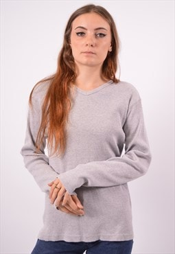 Vintage Levi's Top Long Sleeve Grey