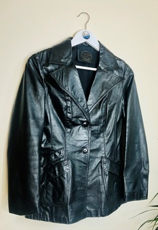 Vintage Ladies Leather 90s Jacket
