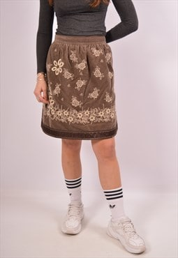 Vintage Just Cavalli Corduroy Skirt Brown