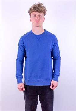 Vintage Fred Perry Sweatshirt in Blue