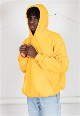 Cosmic Saint Mens Gold Yellow Hoody