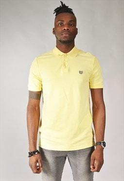 Vintage Ralph Lauren Chaps Polo Shirt Yellow