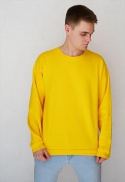 Yellow Essential Sweatshirt