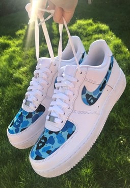 NIKE Customised Airforce 1 Bape WOMENS