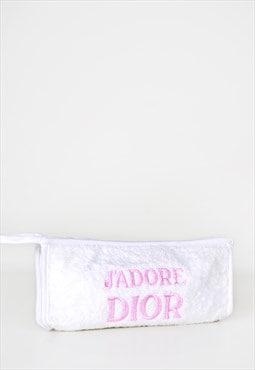 J'Adore Dior Embroidered Towel Pouch