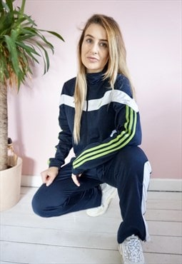 Vintage Adidas tracksuit Co ord set Size Small