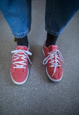 Vintage 90's Red/Pink Trainers