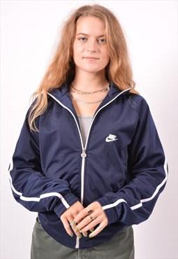 Vintage Nike Tracksuit Top Jacket Oversize Blue