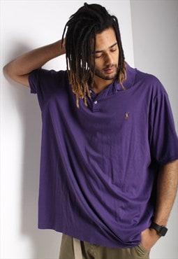 Vintage Polo Ralph Lauren Polo Shirt Purple
