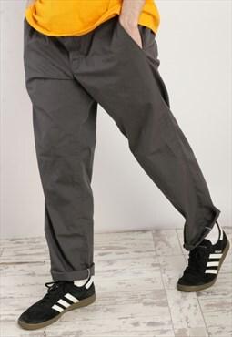 Dickies Slim Straight Trousers in Grey X459