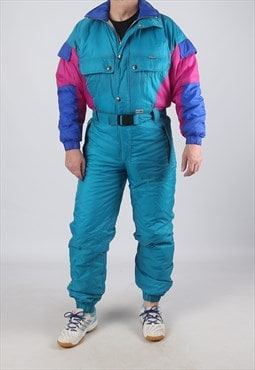 "Vintage Full Ski Suit Snow XS 36"" (9DQ)"