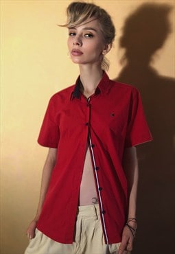 Vintage Red Logo Shirt