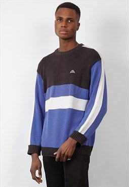 Vintage 90's Kappa colour block knit jumper