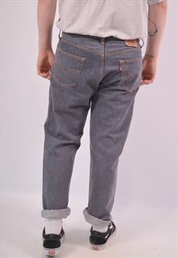 Vintage Levi's 501 Jeans Straight Grey
