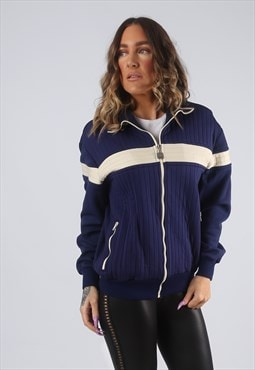 GRASSHOPPERS Tracksuit Top Track Fitted Jacket UK 16 (CK2X)