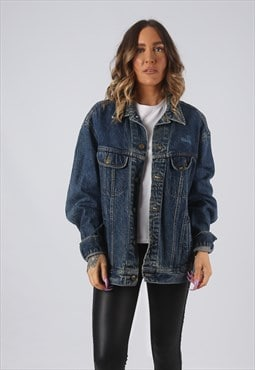 Denim Jacket LEE Oversized Fitted Vintage UK 18 - 20 (DK4D)