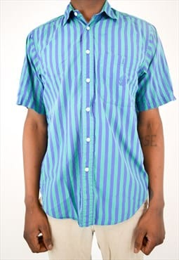 Vintage Nautica Colorful Stripped Button Up