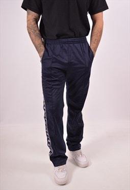 Vintage Kappa Tracksuit Trousers Navy Blue