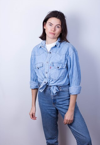 VINTAGE LEVI'S DENIM SHIRT