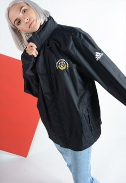 Adidas Windbreaker Jacket in Black.