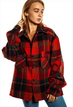 Vintage Flannel Over Shirt S715