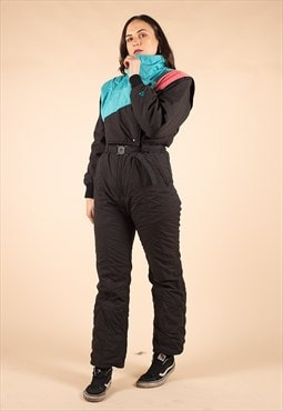 Vintage 90's Full Ski Snow Suit /R39017