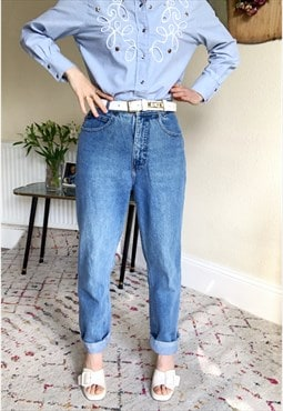 80s Blue Mom Jeans